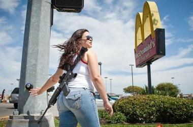 AR15 open carry texas