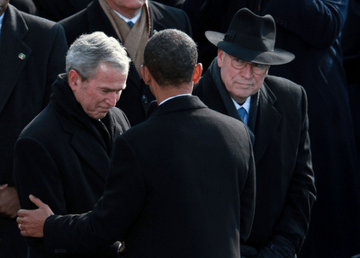 Bush Obama Cheney Inauguration